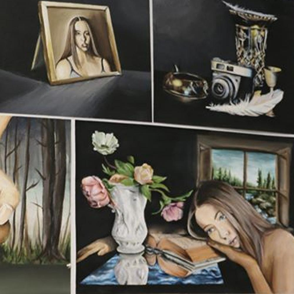 Nikita McDonald, Painting, Whanganui Girls' College
